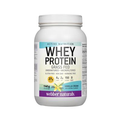 伟博天然草饲牛乳清蛋白粉1140克 健身首选氨基酸丰富无激素无抗生素