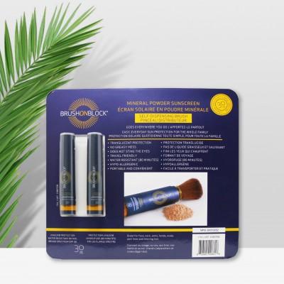 加拿大BRUSHON矿物质刷化妆刷防紫外线 全脸定妆小胖墩散粉蜜