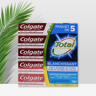 加拿大 高露洁Colgate全效牙膏170ml*5支家庭组合
