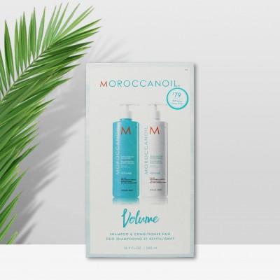 MOROCCANOIL VOLUME摩洛哥油丰盈洗发护发套装