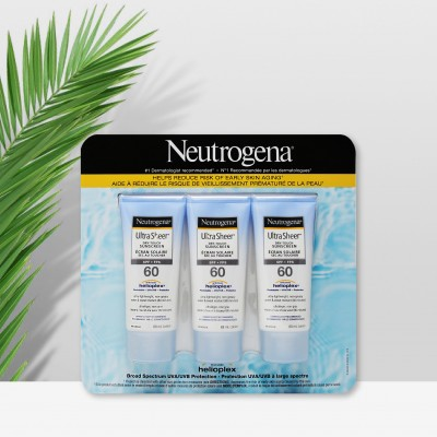 Neutrogena 露得清轻透防晒乳SPF60 88ml 3瓶装