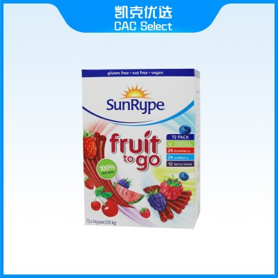 SunRype Fruit to go 水果条
