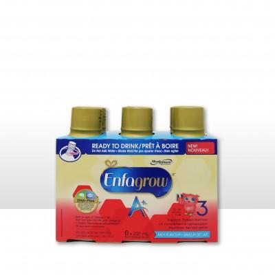 美赞臣Enfagrow 3段即喝液体奶水奶 A+