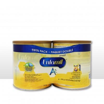 美赞臣奶粉第1段(0-12个月婴儿适用) 2罐装
