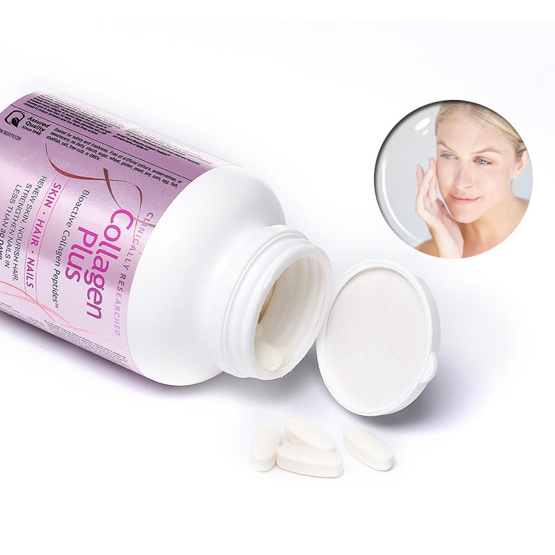 Webber Naturals生物活性胶原蛋白多肽加生物素120粒抗皱美发